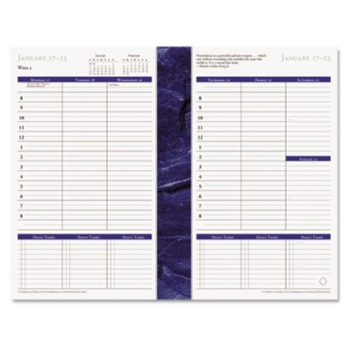 FranklinCovey - Monticello Dated Weekly/Monthly Planner Refill, 5-1/2 x 8-1/2, 2017 37062-17 by Franklin Covey