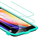 ESR Force Resistant Up to 22 Pounds iPhone 8 Plus Tempered Glass for iPhone 8 Plus(Pack Of 2)