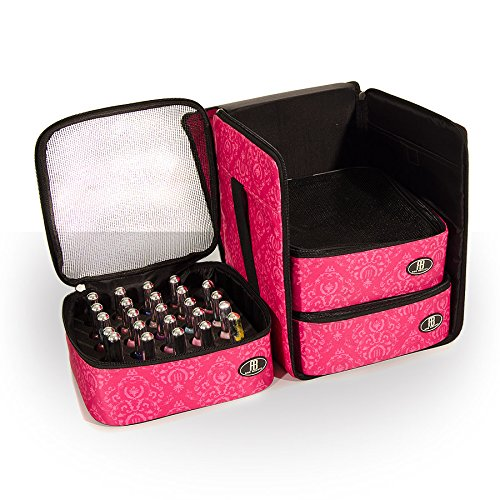 roo-beauty-nail-polish-varnish-cube-manicure-storage-bag-makeup-cosmetic-case-in-imperial-pink-by-ro