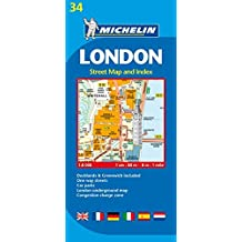 Plan Michelin Londres.