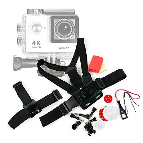 Exclusivo-Kit-de-accesorios-DURAGADGET-para-cmaras-deportivas-H9-N9-Neewer-EX5000-WIFI