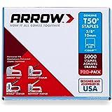 Agrafes Arrow a506ip, T50, 3/20,3cm 10mm (Pack de 5000)
