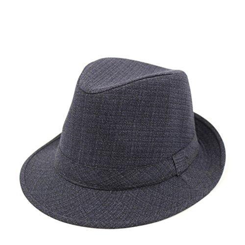 Hat Männer/ Frühlings-Hut/Kopfbedeckungen für Männer/Winter-Jazzhut bei älteren Patienten/ Sommer alter Hut/Papa-Cap/ Opa-Hut-B One Size