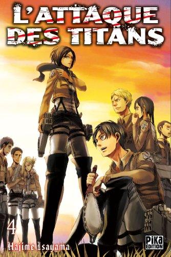 Attaque Des Titans (l') Vol.4 par ISAYAMA Hajime