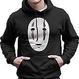 No Face Mask Studio Ghibli Spirited Away Men's Hooded Sweatshirt