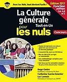 La Culture générale Fonction publique pour les nuls : Concours