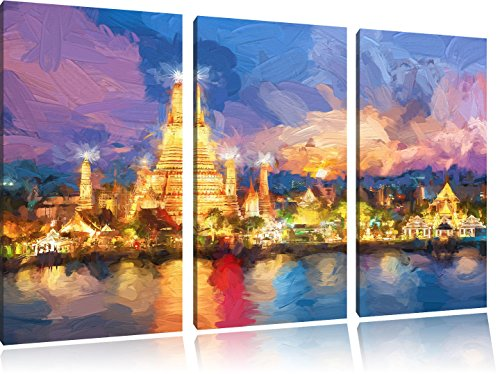 wat-arun-temple-night-view-bangkok-thailande-art-brush-effect-3-pc-image-toile-120x80-image-sur-toil