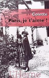 Paris, je t'aime !