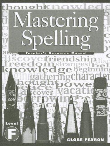 2000c-serie (Mastering Spelling Level F TM 2000c (Mastering Spelling Series))