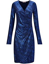 ac6f5abf5f1 Joe Browns Womens Long Sleeve Festive Wrap Occasion Dress