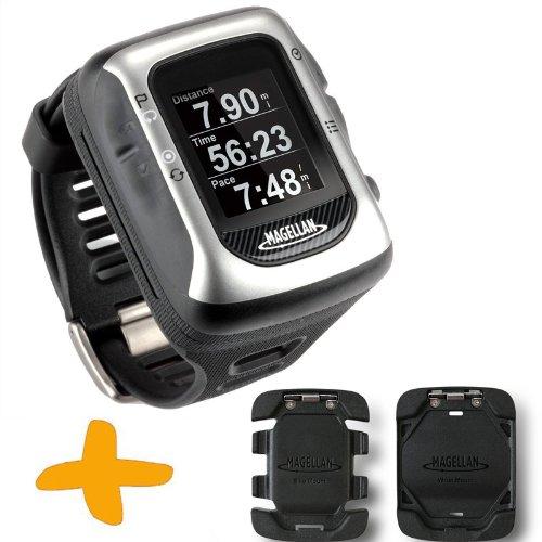 Magellan Switch UP GPS orologio sportivo w / Monti (Crossover GPS Watch per molteplici attività sportive: corsa, jogging, nuoto, ciclismo, Impermeabile fino a 50 metri)
