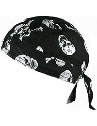 Bandana Tete De Mort Pirate Skull Du Rag Doo Rag Serre Tete