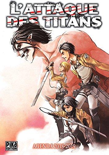 Agenda L'Attaque des Titans