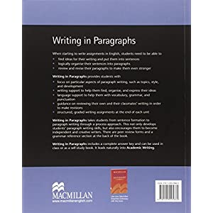 Writing in paragraphs. Per le Scuole superiori
