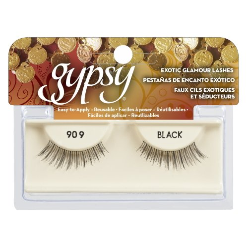 (3 Pack) GYPSY LASHES False Eyelashes - 909 Black