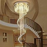 BCX Light-Simple und Modern, Wendeltreppe, Crystal Light im Konferenzraum der Villa Lobby, schöne Beleuchtung,70 * 230 cm