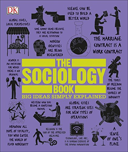 The Sociology Book (Big Ideas Simply Explained) - Big Books Book Beginner Of