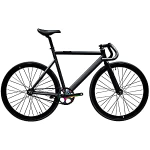 State Bicycle 6061 Black Label Fixed Gear Bike - Galaxy, 49 cm
