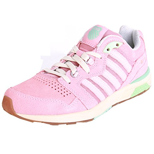 K-Swiss Si-18 Rannell 2~mllw Rse/Rse Tan/Yucca~m, Baskets Basses femme