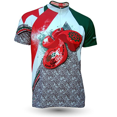 Band of Riders Maillot VTT all-mountain Euskal Pays Basque Taille - : M