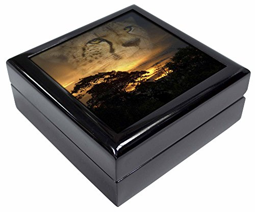 CHEETAH Uhr Bild Schmuck Box Weihnachten Geschenk Cheetah Uhr