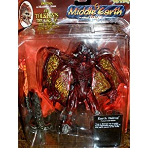 "Balrog 6"" Action Figure Monster From the Lord of the Rings by Tolkien Enterprise 1"