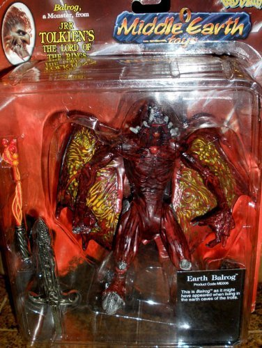 """Balrog 6"""" Action Figure Monster From the Lord of the Rings by Tolkien Enterprise 1"""