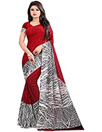 Globalia Creation Women's Georgette Saree With Blouse Piece | Saree Georgette For Women | Georgette Sarees | Sarees...