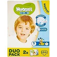 Huggies - Bimbo - Pañales - Talla 5 (12-18 kg) - 2 x 42 pañales
