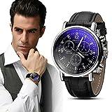 Venda de reloj de la manera creativa reloj de los hombres de negocios necesaria lujo de cuero para...