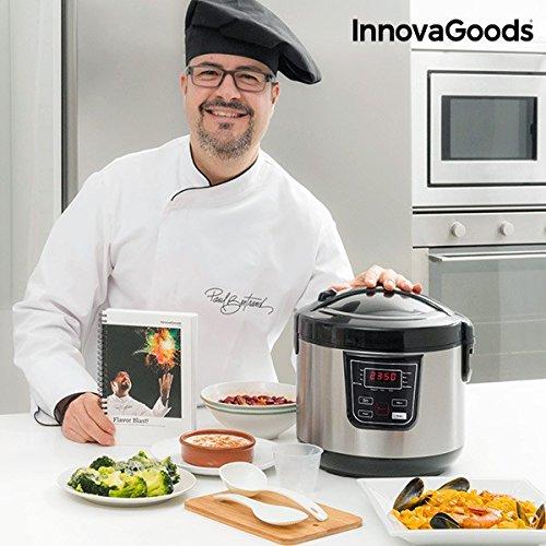 InnovaGoods IG114222 Robot de Cocina con Recetario