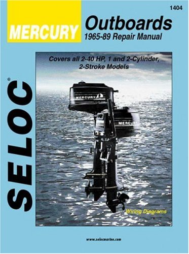 Mercury Outboards, 1-2 Cylinders, 1965-1989 (Seloc Publications Marine Manuals) -