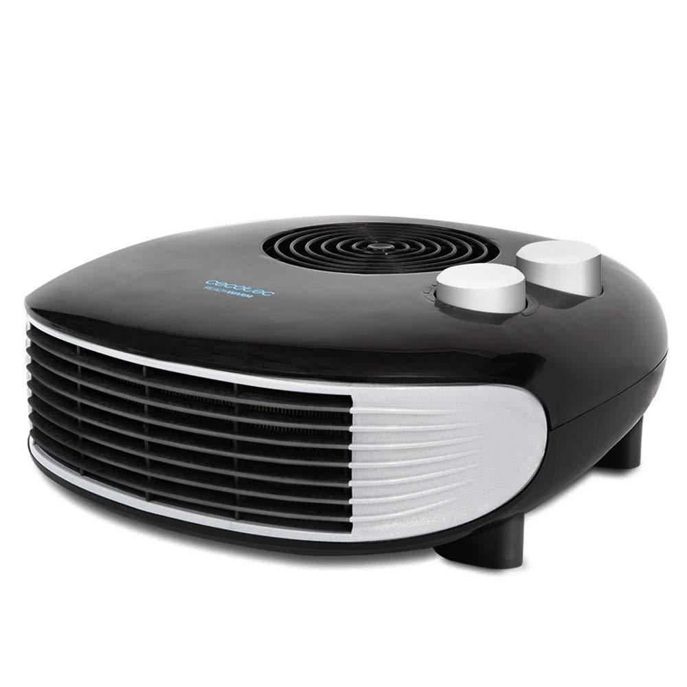 Cecotec Calefactor Horizontal Ready Warm 9650 Horizon Force. 3 Modos, Termostato Regulable, Protección sobrecalentamiento, Antihelada, Sensor Antivuelco, 2000 W