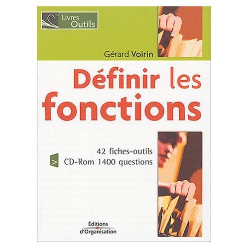 Définir les fonctions (1Cédérom)