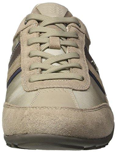 Geox  U Wells C, Sneakers Basses homme Beige (Rock/Papyrusc5Y1S)