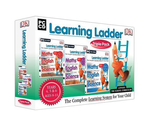 Avanquest Learning Ladder Triple Pack - Yr 4-6 - Programa educativo (20 MB, 48 MB, 120MHz, PC, 640 x 480 16 bit, CD-ROM, 512 MB)