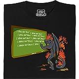 BALROG Shall Not Pass–Geek Shirt per computer freaks in Fair gehandelter cotone biologico nero 54/56