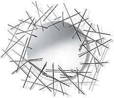A di Alessi - FC08 - Blow Up Miroir Mural avec Encadrement