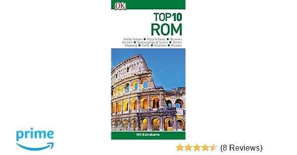 top 10 reisefuhrer rom mit extrakarte und kulinarischem sprachfuhrer zum herausnehmen