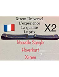 Xtrem 2 Sangles Universel Hoverkart pour Fixation Hover Go Kart Overkart Over Carte Cart Hoverkart Hovercart Scratch Attache Hoverboard
