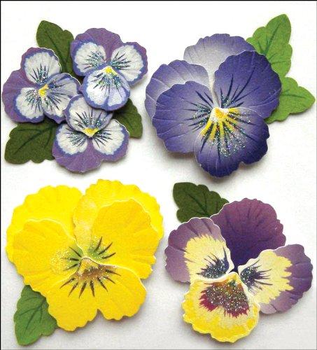 Jolee S Boutique Dimensional Stickers (Jolee 's Boutique dreidimensionale Aufkleber, Blumen)