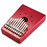 Professional Portable Musical redfunny 10 Key Kalimba Mbira Thumb Piano Instrument Accompaniment by ASTrade