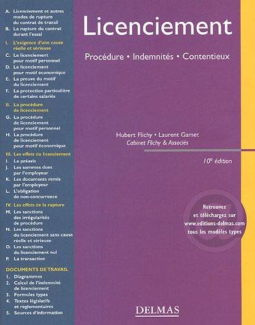 Licenciement : Procdure, Indemnits, Contentieux