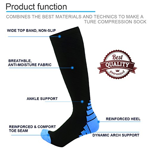 Compression-Socks-for-Women-Men-Graduated-Compression-Stockings-20-30mmhg-Best-Support-Socks-Athletic-for-RunningFlight-Travel-Nurses-Pregnancy-Circulation-Hose-Knee-High