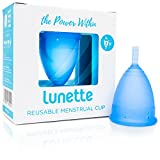 Lunette coupe menstruelle - Bleue - Taille 2 (EN Version)