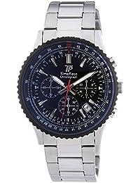 Time Piece Herren-Armbanduhr Sporty Chronograph Quarz Edelstahl TPGS-20136-21M