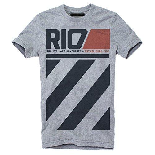 """DEPARTED Fashion Shirt """"3348-020"""" Grau"""
