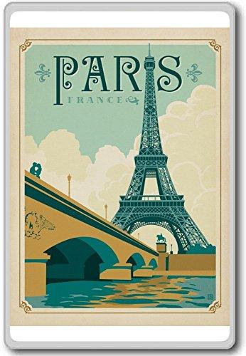 Zoom IMG-2 vintage paris france travel fridge