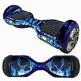 HCFKJ 6,5 Zoll Self-Balancing Scooter Skin Hover Elektro Skate Board Aufkleber Zwei-Rad Smart Schutzhülle Fall Aufkleber (D)