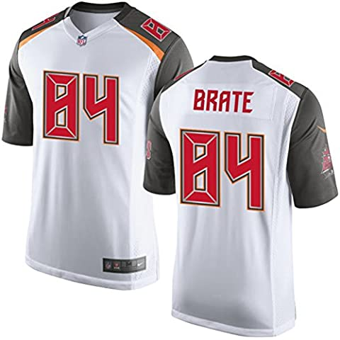 84 Cameron Brate Trikot Tampa Bay Buccaneers Jersey American Football Shirt Mens